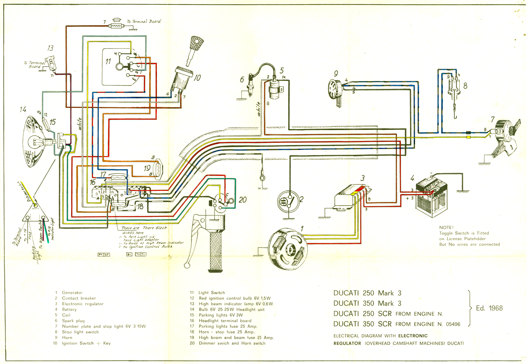 jupiter headlamp page 2 motoscrubs com rh motoscrubs com 3 Wire Headlight Wiring Diagram Chevy Headlight Wiring Diagram